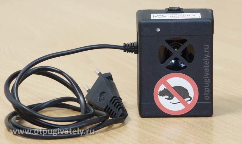 Ультразвуковой отпугиватель мышей Цунами-3